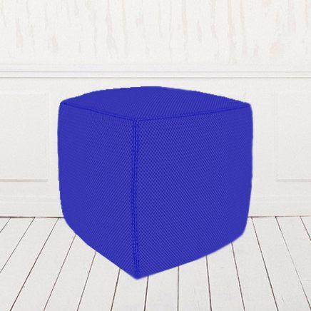 Пуфик-кубик синий