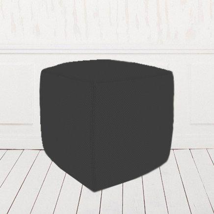 Пуфик-кубик черный