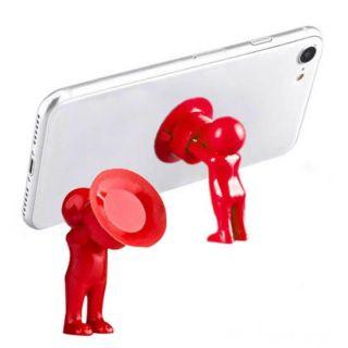 Настольный держатель мобильного телефона 3D-MANstand, Цвет: Красный