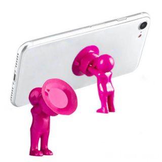 Настольный держатель мобильного телефона 3D-MANstand, Цвет: Розовый