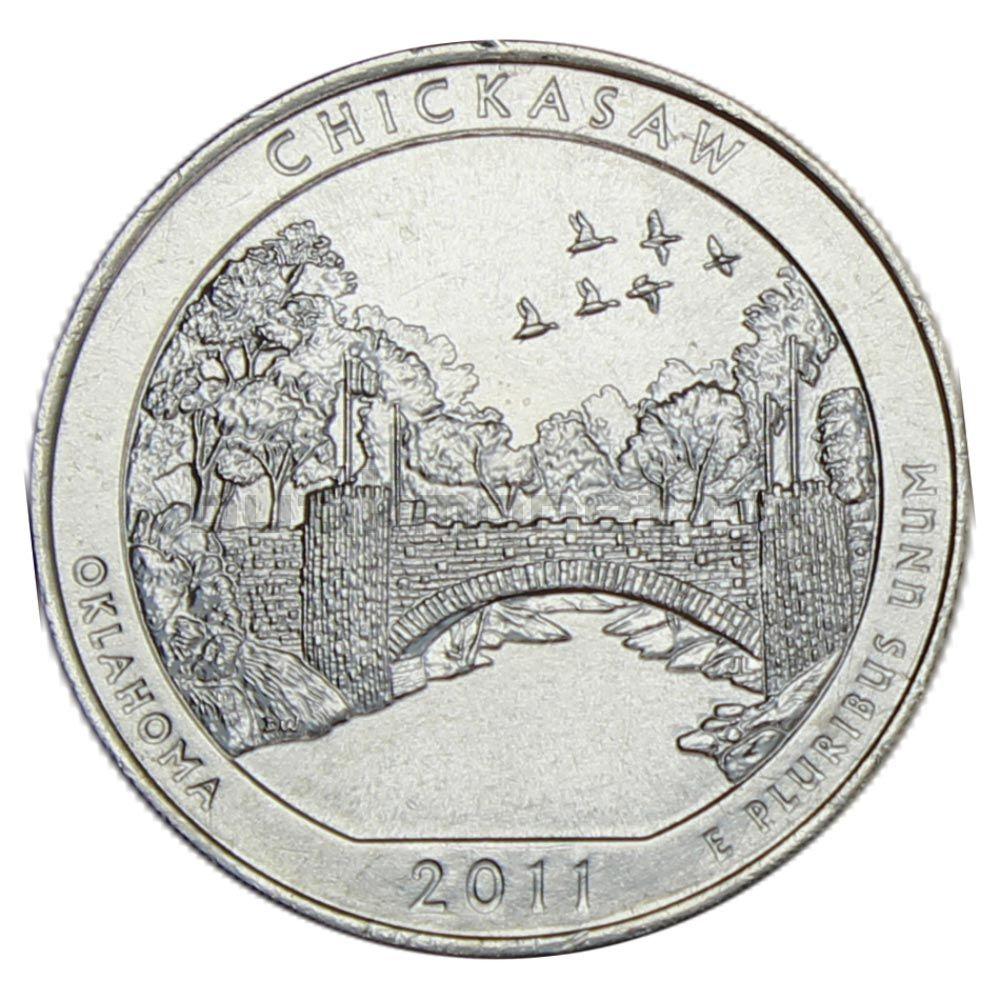 25 центов 2011 США Рекреационная зона Чикасо P