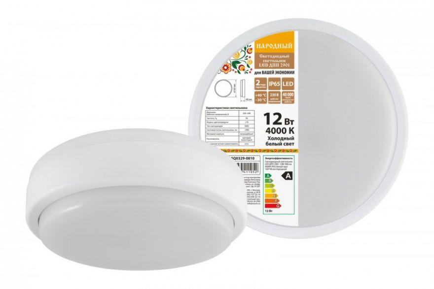 Светодиодный светильник ЖКХ TDM SQ0329-0810 12W