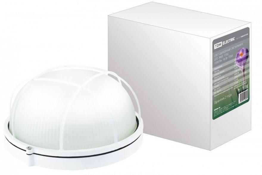 Светодиодный светильник ЖКХ TDM SQ0329-0034 16W