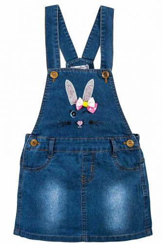 Сарафан джинсовый для девочки 3-7 лет Bonito OP776C