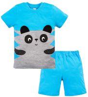 Костюм для мальчика 1-4 лет Bonito голубой Панда