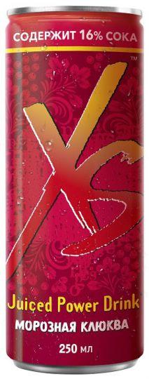 XS™ Power Drink Морозная клюква 6 шт