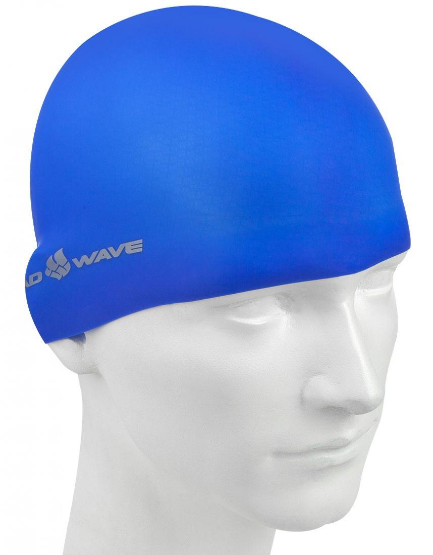 Шапочка для плавания силиконовая Mad Wave Light Silicone Solid