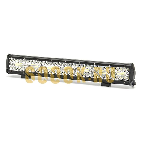 Двухрядная светодиодная LED балка 420W Philips дальнего света