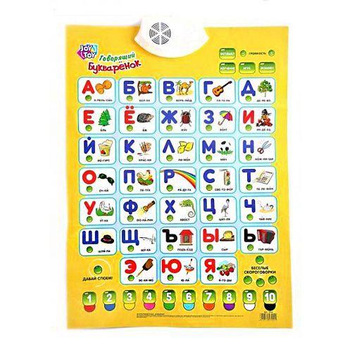 Электронный плакат Play Smart Говорящий Букваренок