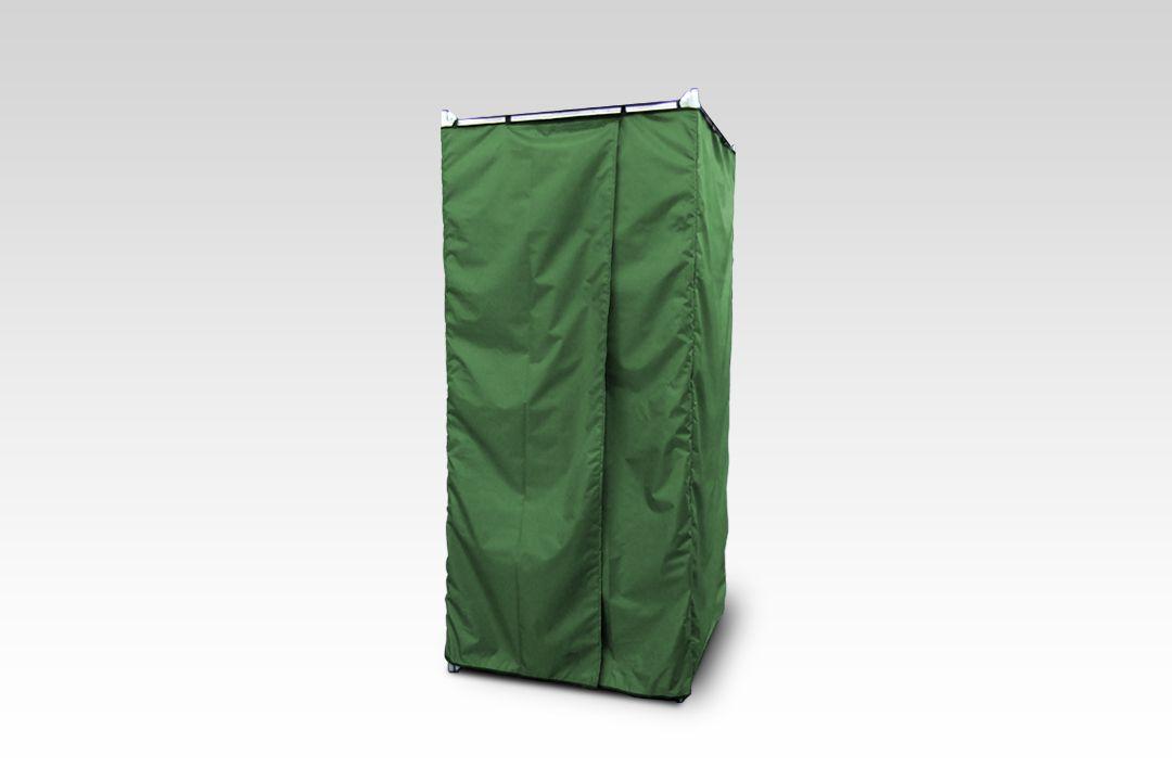 Дачная душевая кабина «Rostok» сборная без бака (зеленая)