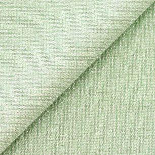 Лоскут трикотажной ткани кашкорсе Зеленый с люрексом