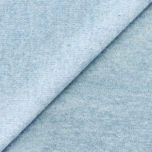 Лоскут трикотажной ткани  Голубой меланж