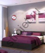 Кровать Ронда венге1600*200