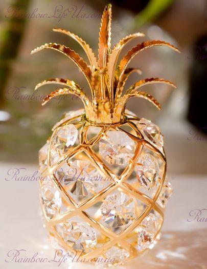 "Фигурка ананас с кристаллами ""Swarovski"""
