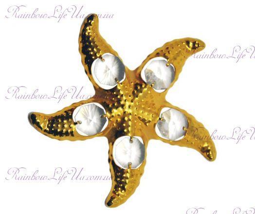 "Фигурка морская звезда с кристаллами ""Swarovski"""