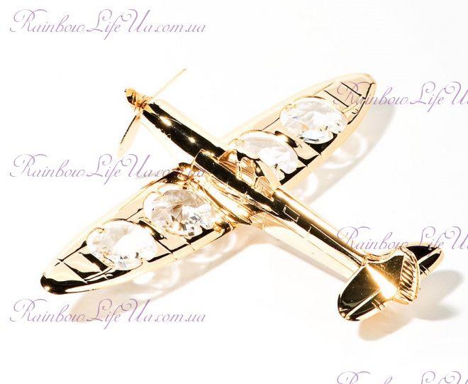 "Фигурка самолет ""Swarovski"""