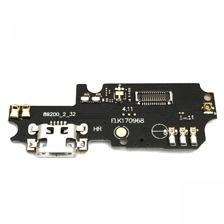 Нижняя плата с разъемом зарядки и микрофоном для Asus Zenfone 3 Max (ZC553KL)