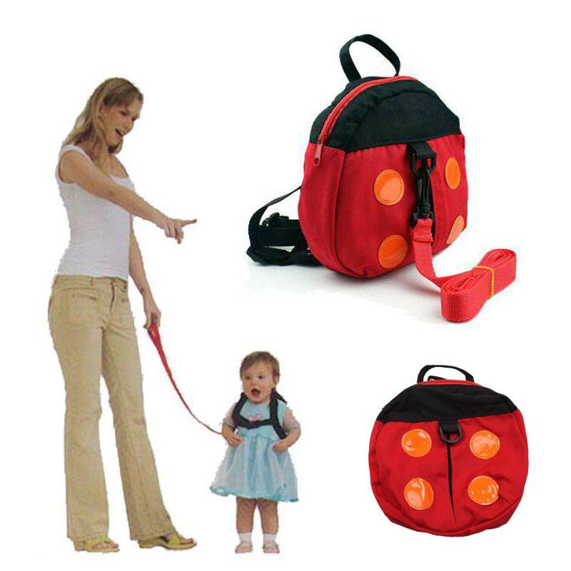 Страховочная шлейка для ребенка Kid Keeper Safety Harness, вид Божья коровка