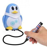 Индуктивная игрушка Пингвин с LED сенсором, цвет голубой
