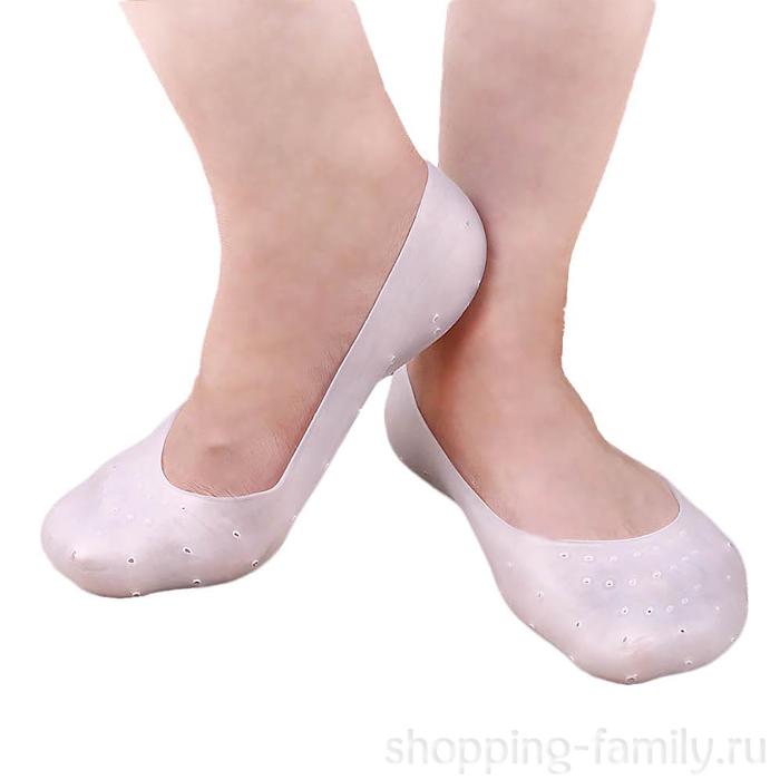 Силиконовые носочки Anti-Crack Silicone Socks, размер L