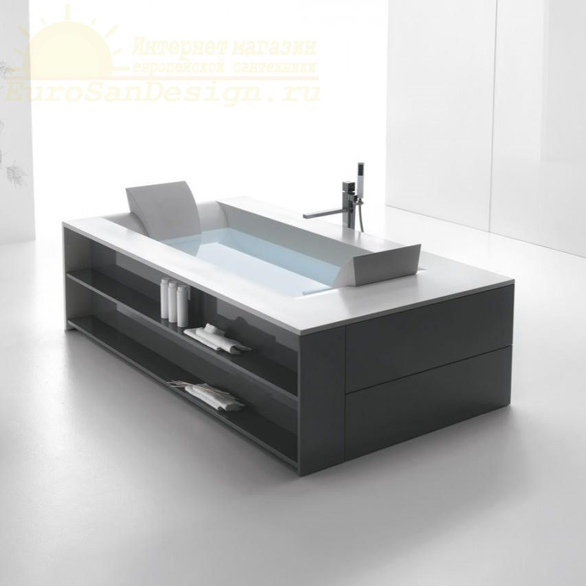 Ванна Hafro Sensual 2SNA1N пристенная или угловая 190х120 ФОТО
