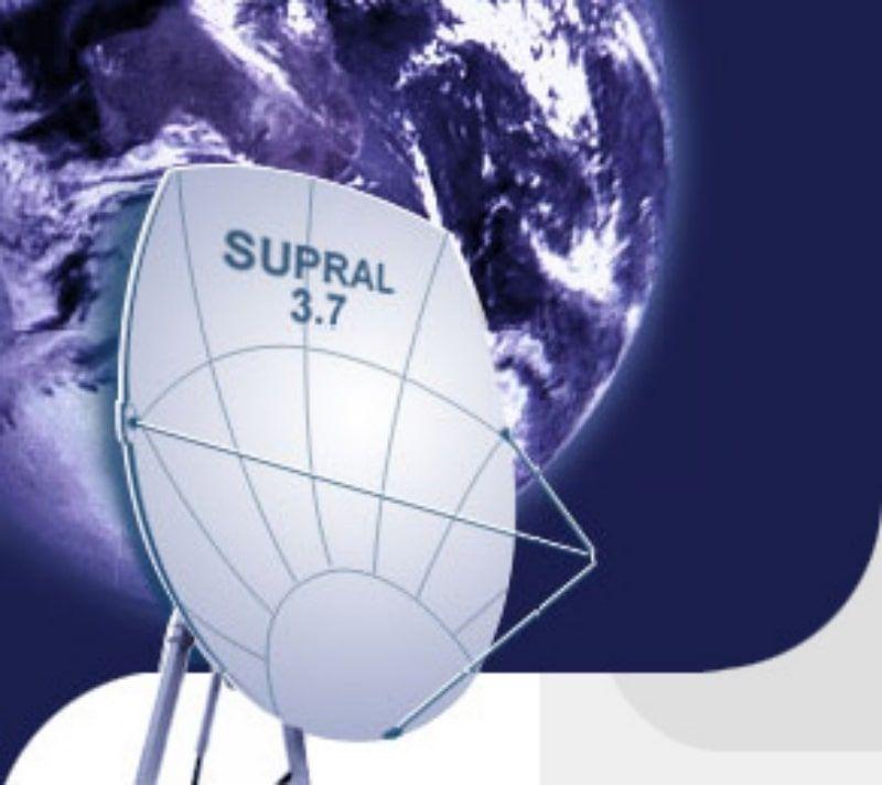 Спутниковая Антенна Супрал 3700х4050