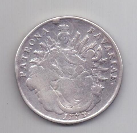 1 талер 1773 года Бавария Германия