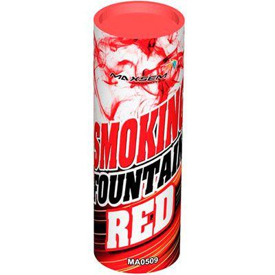 Цветной Дым SMOKING FOUNTAIN красный