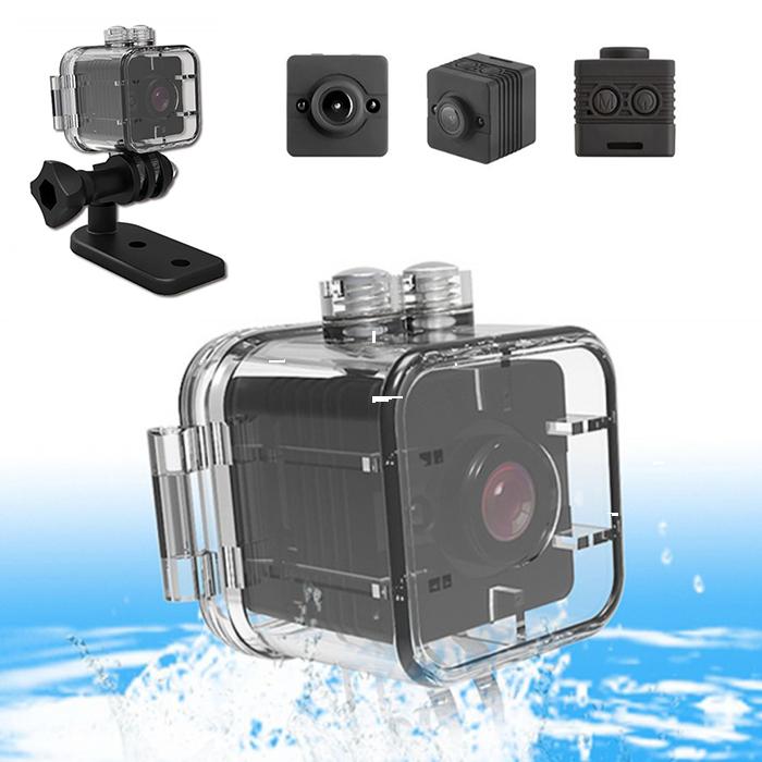 Водонепроницаемая мини экшн-камера HD SQ12