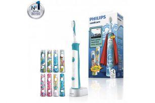 Электрическая зубная щетка Philips Sonicare For Kids HX6311/07 с наклейками