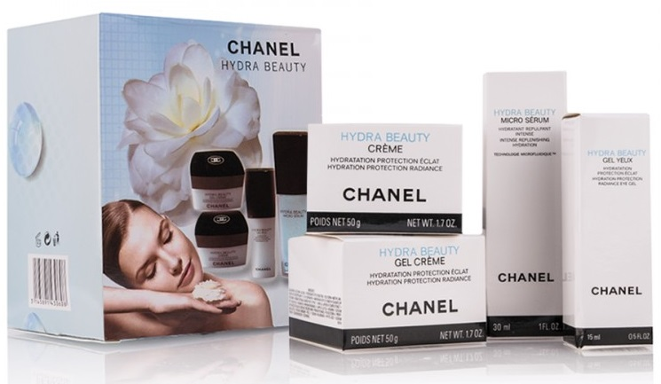 "Набор кремов Chanel ""Chanel Hydra Beauty"" 4 в 1"