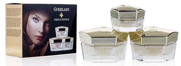 """Набор кремов Guerlain """"Abeille Royale"""" 3 в 1"""