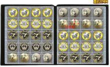 Альбом коллекционный для монет на 240 ед (35х32 мм )