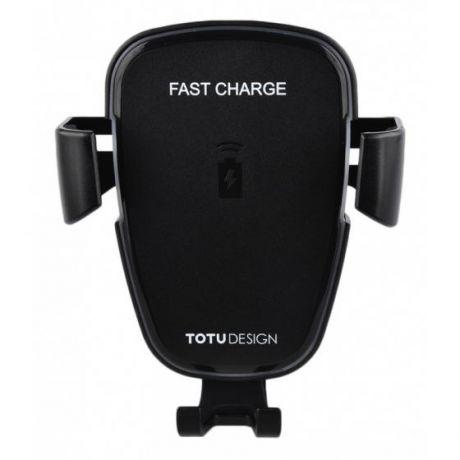 Автомобильный держатель с функцией беспроводной зарядки TOTU CACW-05
