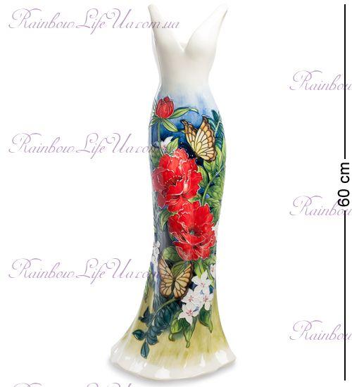 "Ваза дамское платье Butterfly ""Pavone"""