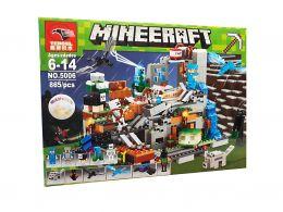 Конструктор Minecraft «Нападение драконов» 865 деталей