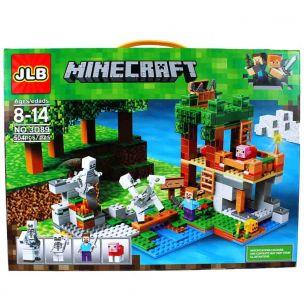 Конструктор JLB-Minecraft 504 детали