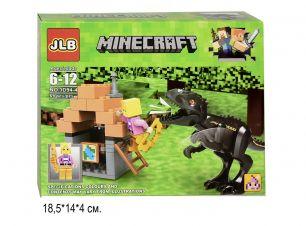 Конструктор Minecraft Динозавры 59 деталей
