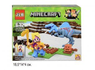 Конструктор Minecraft Динозавры 62 детали