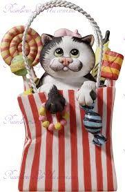 """Статуэтка кот сладкие лекарства Долли """"Enesco"""""""