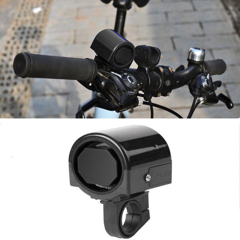 Электронный Велосипедный Клаксон Lei Hao, Цвет Черный