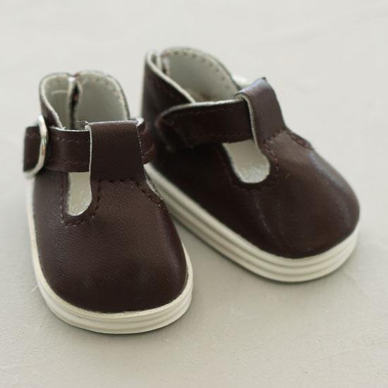 Обувь для кукол - сандалики 5 см (темно-коричневые)