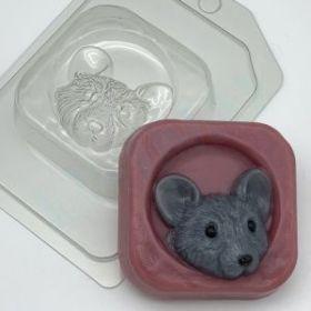 Форма для мыла и шоколада  Мышь в норке