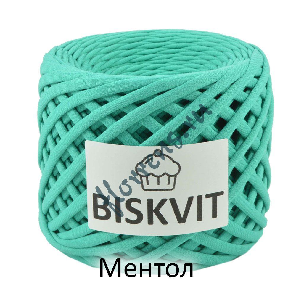 Трикотажная пряжа Biskvit / Ментол