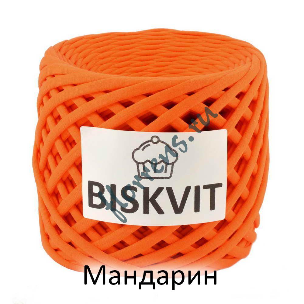 Трикотажная пряжа Biskvit / Мандарин