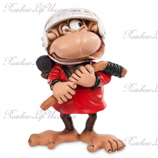 "Фигурка обезьяна хоккеист ""W.Stratford"""