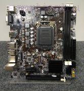 Мат. плата Lga1155 (чипсет H61С, Micro-ATX, 2 слота DDR3) ZX-H61C