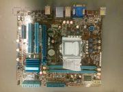 Материнская плата Lga1156 (чипсет H55, mATX, 2 слота DDR3) - ASUS P7H55-M PLUS