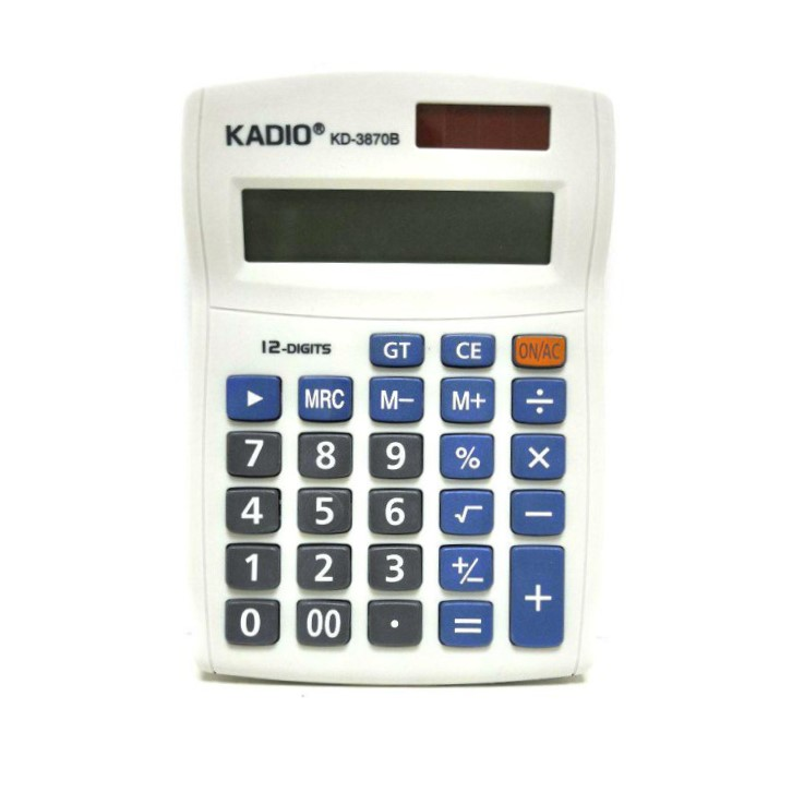 Настольный 12-разрядный калькулятор Kadio KD-3870B