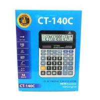 Настольный 14-разрядный калькулятор с двойным питанием CT-140C рис 2